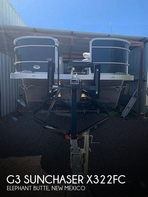 Used Boats For Sale in New Mexico by owner | 2018 G3 Sunchaser X322FC