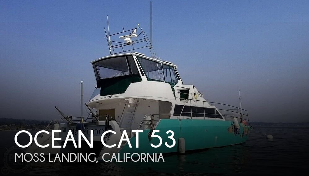 Used Boats For Sale in Santa Cruz, California by owner | 1996 Ocean Cat Ocean 53 Catamaran