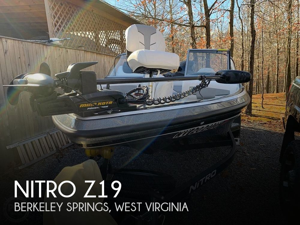 Used Boats For Sale in West Virginia by owner | 2017 Nitro Z19