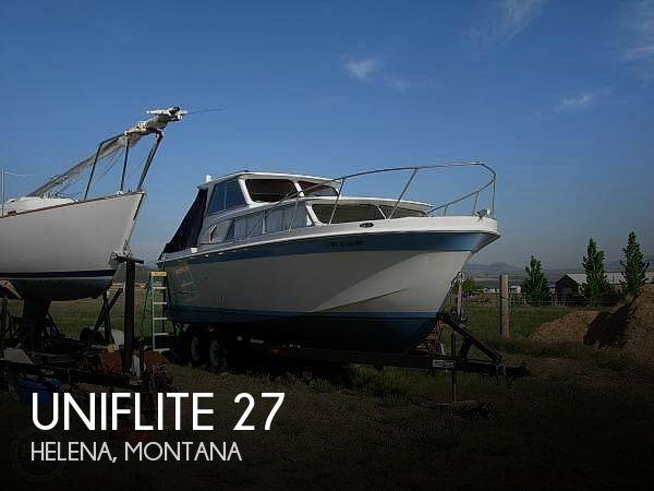 Used Uniflite Boats For Sale by owner | 1970 Uniflite 27