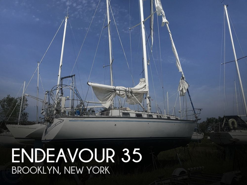 1983 Endeavour boat for sale, model of the boat is 35 & Image # 1 of 40