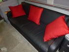 Newly Upholstered Leather Couch