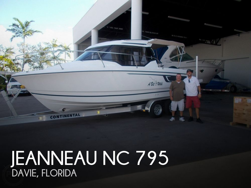 Used Jeanneau Boats For Sale by owner | 2018 Jeanneau NC 795