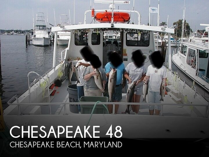 Used Boats For Sale in Maryland by owner | 2002 Chesapeake Deadrise 48