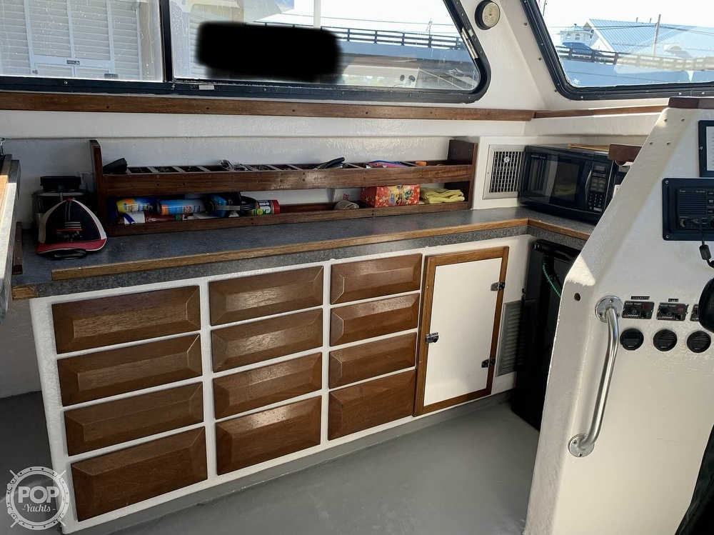 2002 Chesapeake boat for sale, model of the boat is Deadrise 48 & Image # 6 of 40
