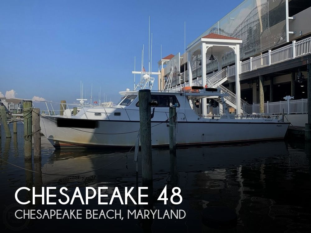 2002 Chesapeake boat for sale, model of the boat is Deadrise 48 & Image # 1 of 40