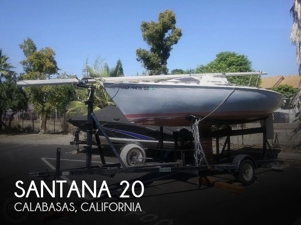 1977 Santana 20 Trailerable Sloop - image 1