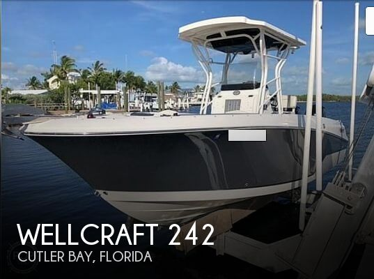 Used Wellcraft Boats For Sale in Florida by owner | 2016 Wellcraft 242 Scarab Offshore