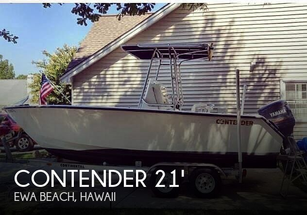 Used Power boats For Sale in Hawaii by owner   1999 Contender 21'3 Open Fishermen