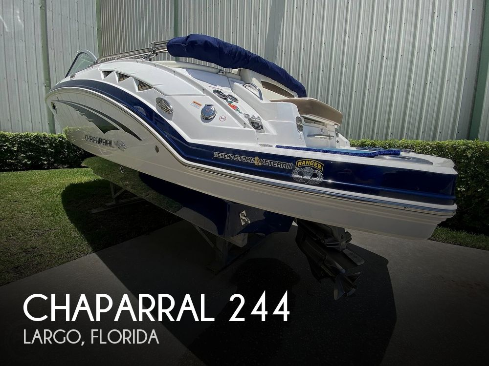 Used Deck Boats For Sale by owner | 2018 Chaparral Sunesta 244