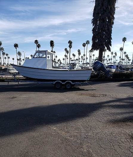 1982 Clipper Craft boat for sale, model of the boat is 26 Dory & Image # 10 of 40
