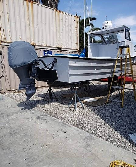 1982 Clipper Craft boat for sale, model of the boat is 26 Dory & Image # 11 of 40