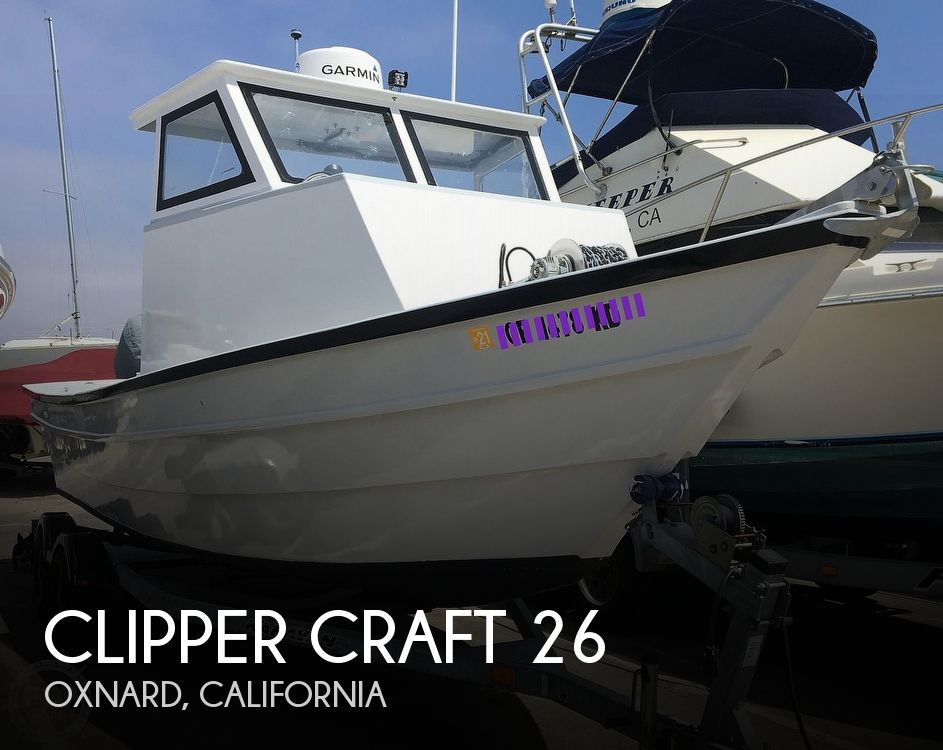 1982 Clipper Craft boat for sale, model of the boat is 26 & Image # 1 of 40