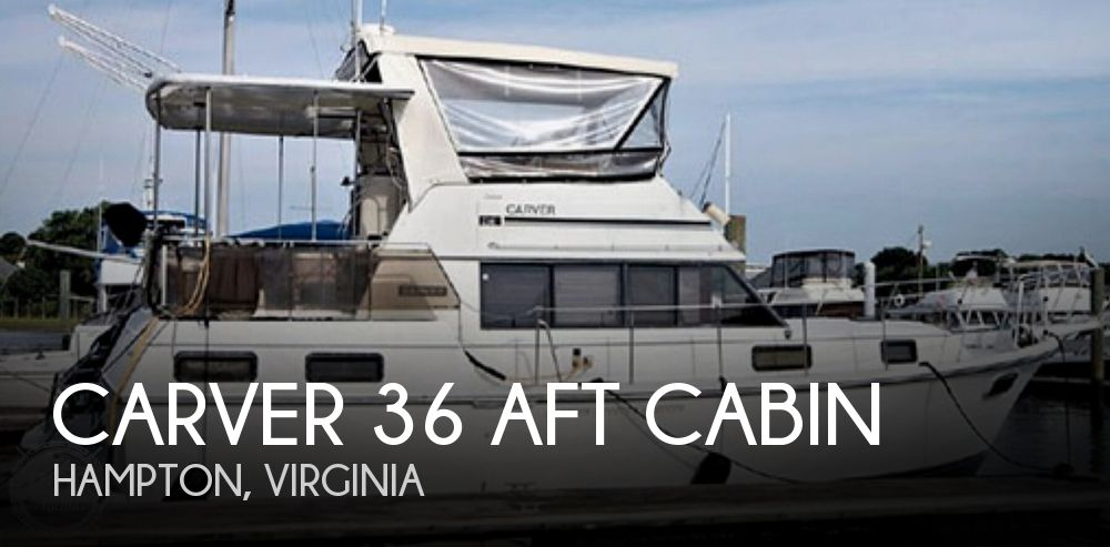 1985 CARVER 36 AFT CABIN for sale