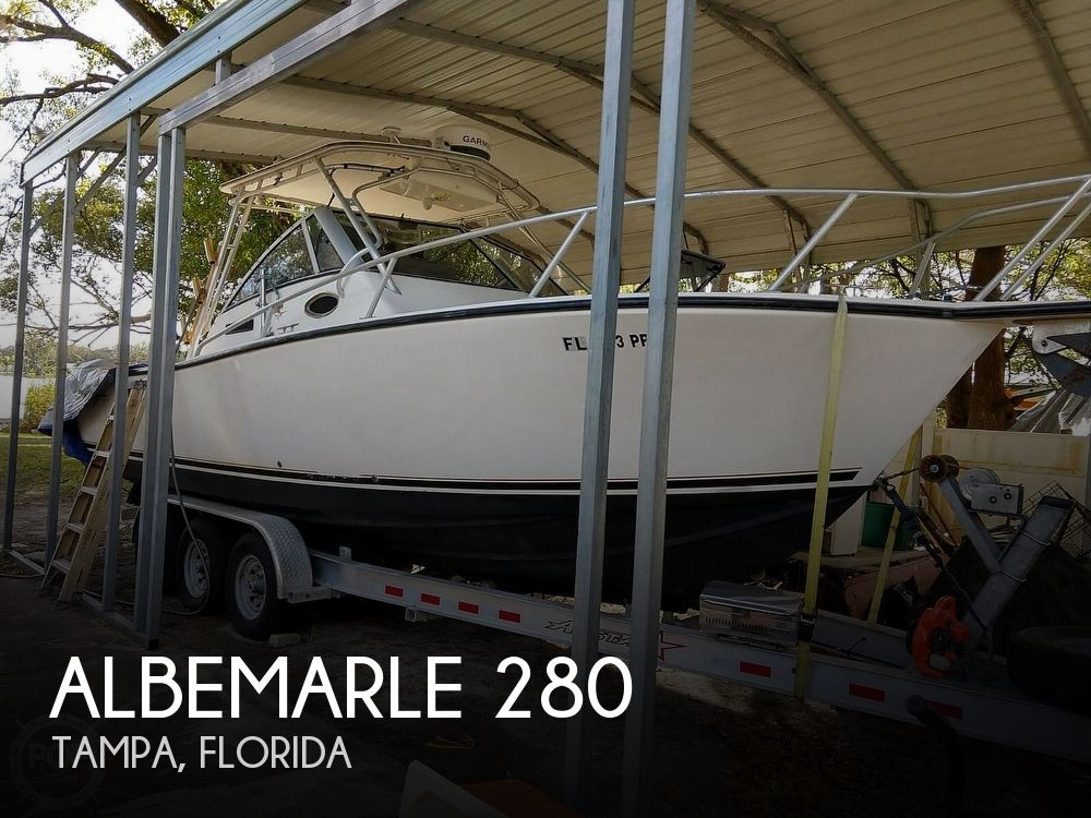 Used Albemarle Boats For Sale by owner | 1998 Albemarle Express Fisherman 280