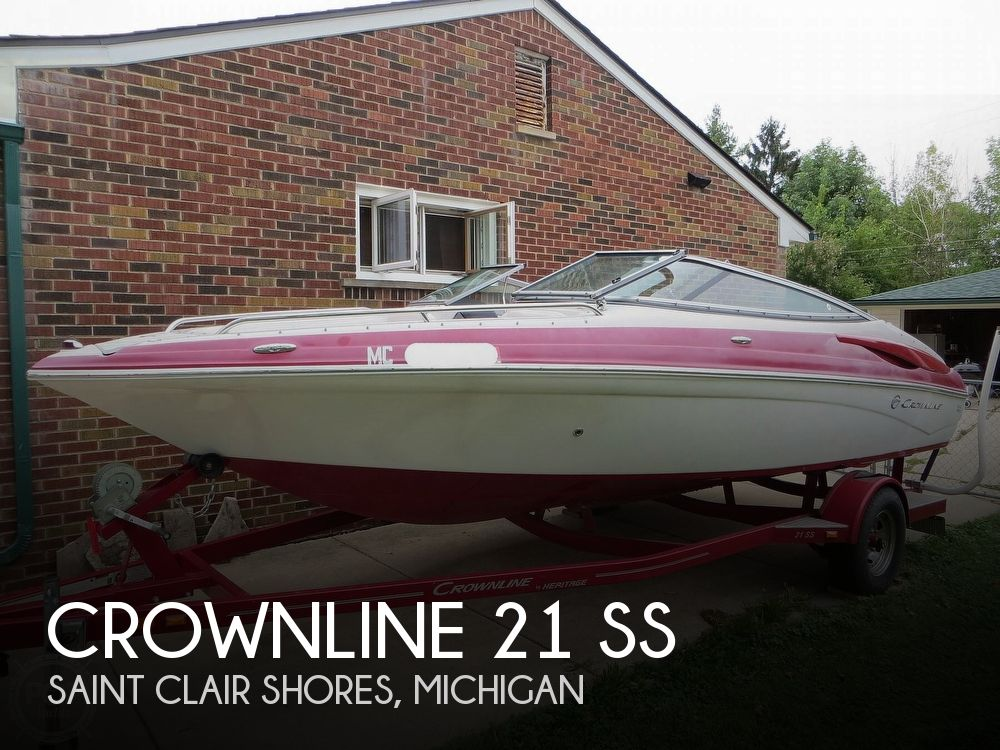 2013 Crownline boat for sale, model of the boat is 21 Ss & Image # 1 of 40