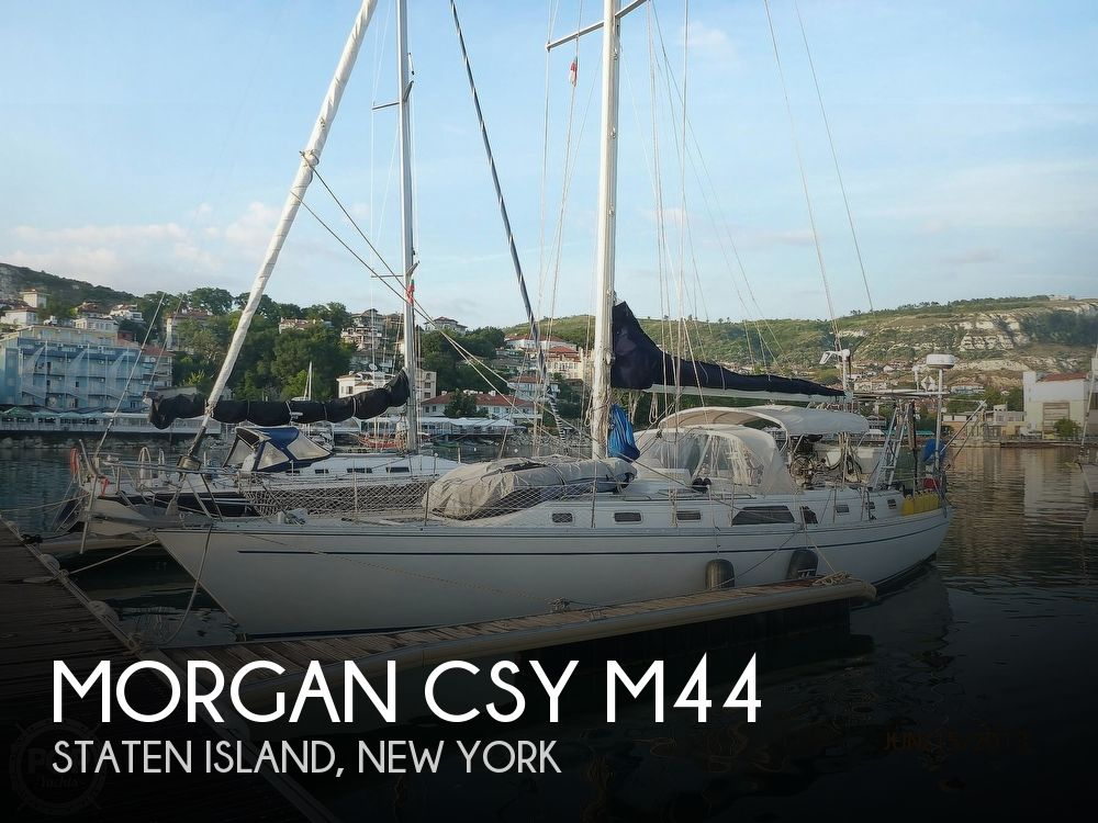 Used Sailboats For Sale in New York by owner | 1988 Morgan CSY M44