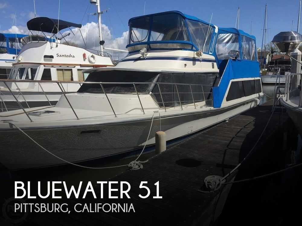 Used Motoryachts For Sale in California by owner | 1984 Bluewater 51 Coastal Cruiser