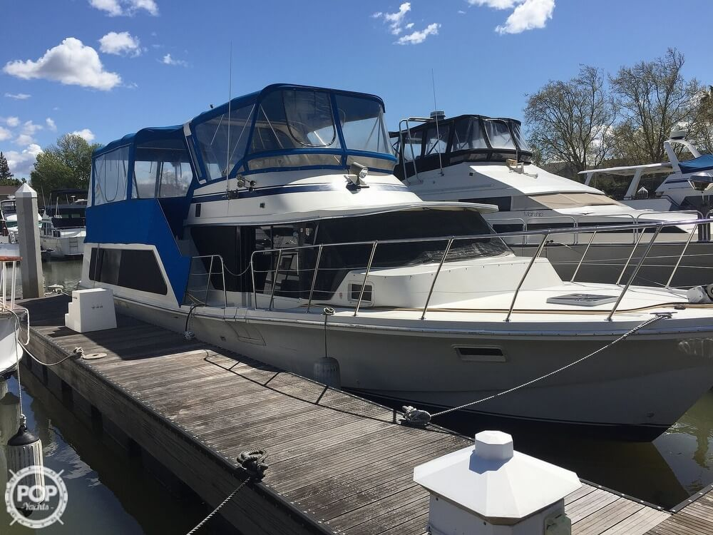 1984 Blue Water boat for sale, model of the boat is 51 Coastall Boatel & Image # 7 of 40