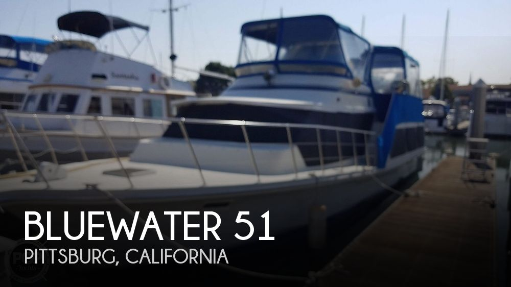 1984 Blue Water boat for sale, model of the boat is 51 Coastall Boatel & Image # 1 of 40