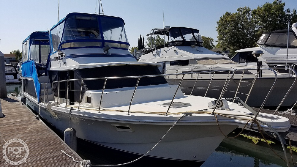 1984 Blue Water boat for sale, model of the boat is 51 Coastall Boatel & Image # 2 of 40