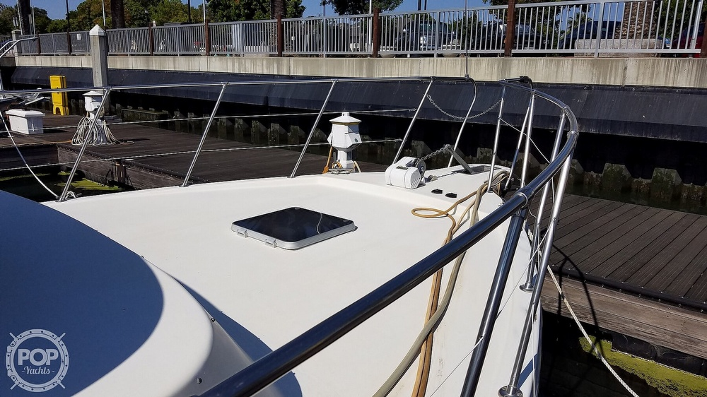 1984 Blue Water boat for sale, model of the boat is 51 Coastall Boatel & Image # 4 of 40
