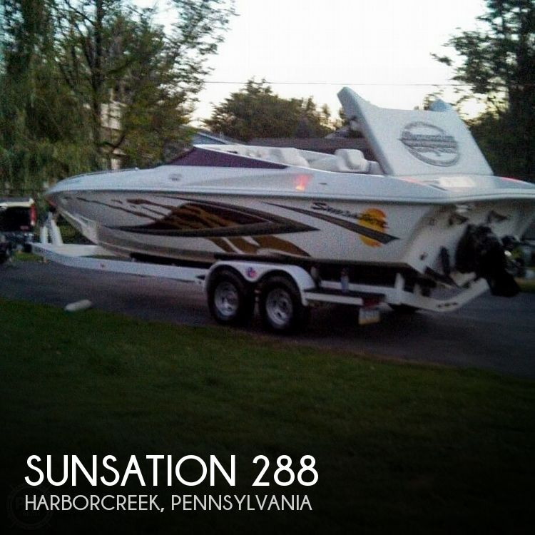 Used Sunsation Boats For Sale by owner | 2002 Sunsation 288