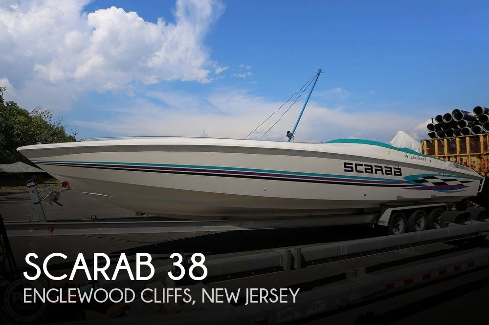 Used Scarab Boats For Sale by owner | 1998 Scarab 38