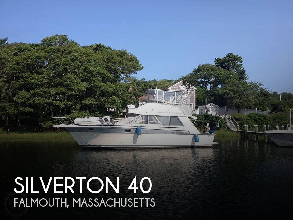 1987 Silverton boat for sale, model of the boat is 39 Convertible & Image # 1 of 40