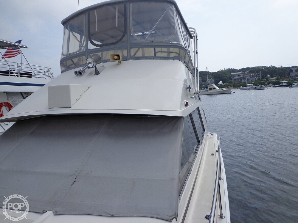 1987 Silverton boat for sale, model of the boat is 39 Convertible & Image # 6 of 40