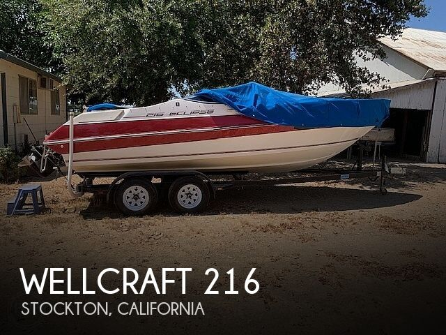 Used Wellcraft Boats For Sale in California by owner | 1991 Wellcraft 216 Eclipse