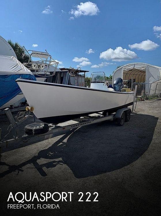 Used Aquasport Boats For Sale by owner | 1969 Aquasport 222 Flatback
