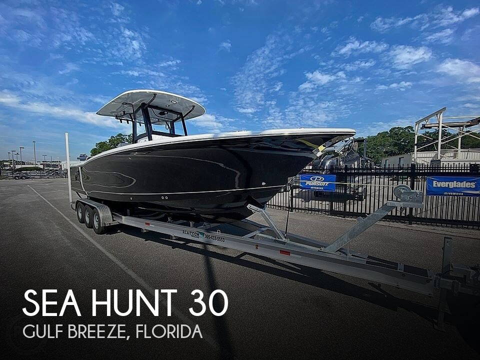 Used Sea Hunt Boats For Sale by owner | 2020 Sea Hunt gamefish 30
