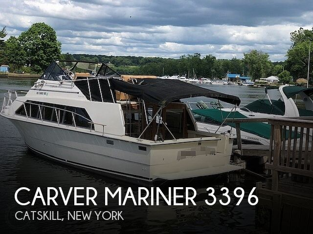 1982 Carver boat for sale, model of the boat is Mariner 3396 & Image # 1 of 8