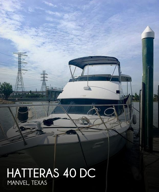 Used Motoryachts For Sale in Texas by owner | 1991 Hatteras 42