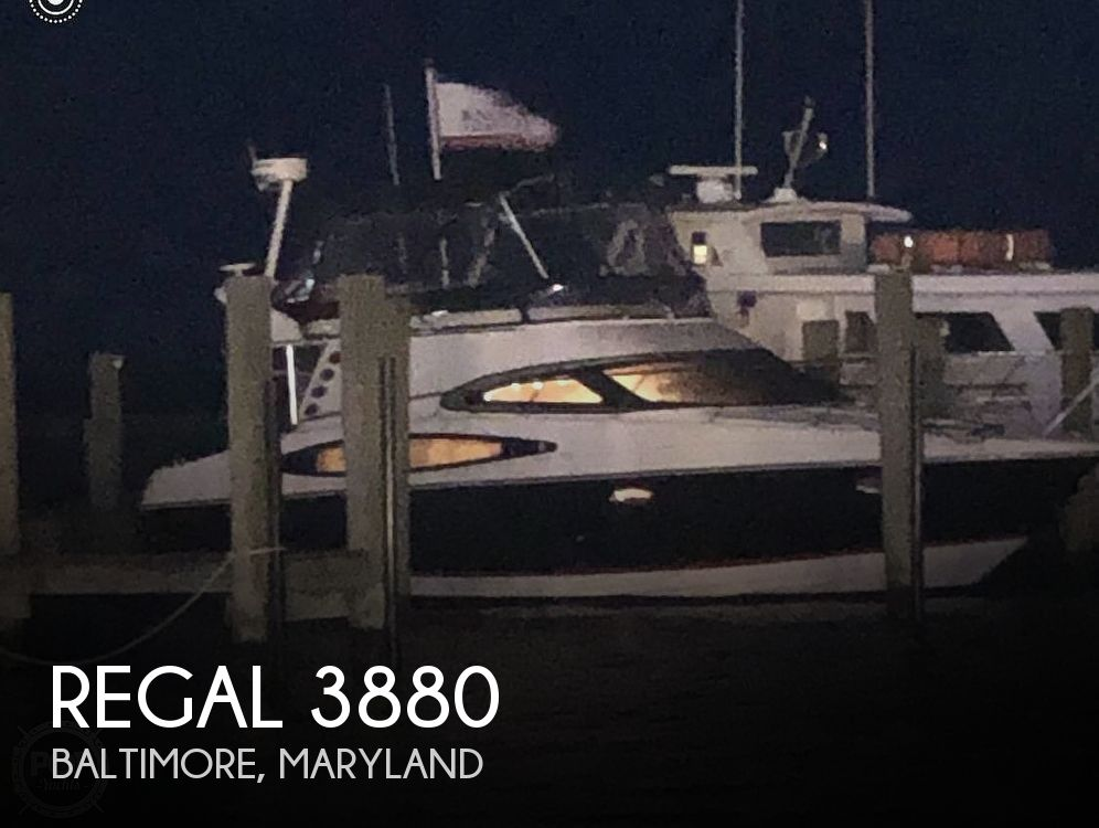 Used Regal Boats For Sale in Maryland by owner | 2006 Regal 3880 COMMODORE