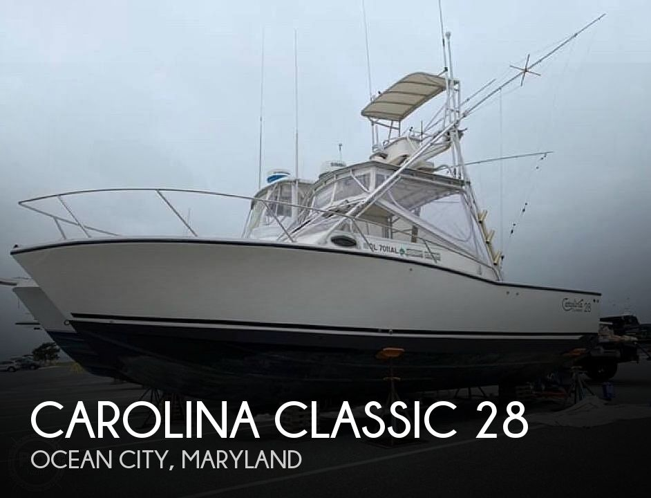 Used Fishing boats For Sale in Maryland by owner | 1994 Carolina Classic 28 Express