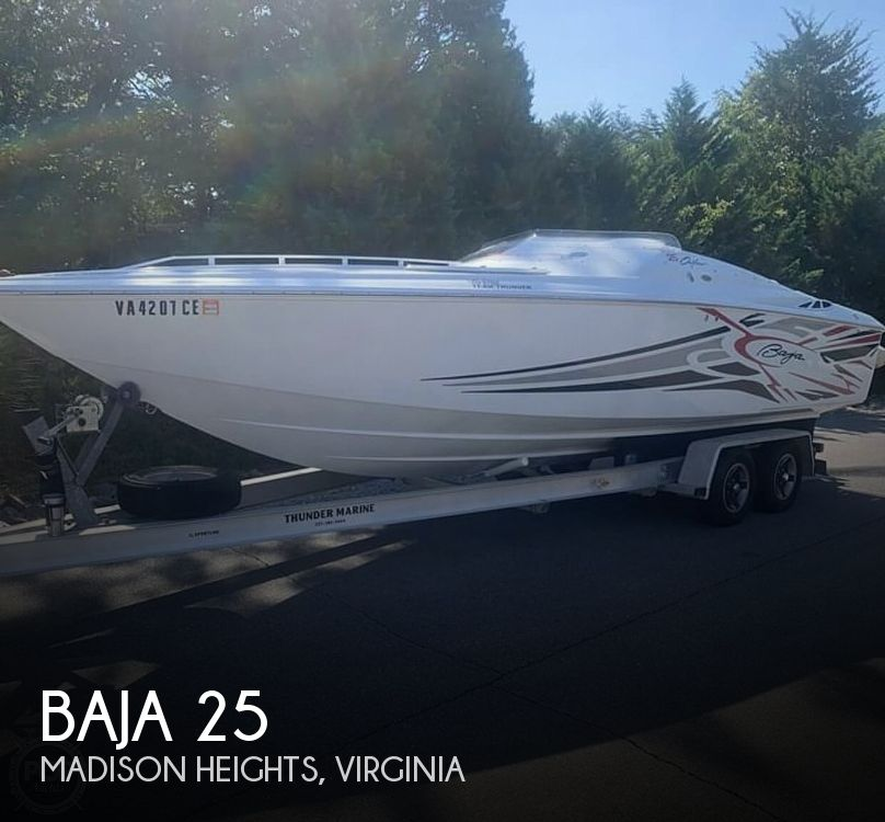 Used Boats For Sale in Roanoke, Virginia by owner | 2005 Baja Outlaw Cigarette 25