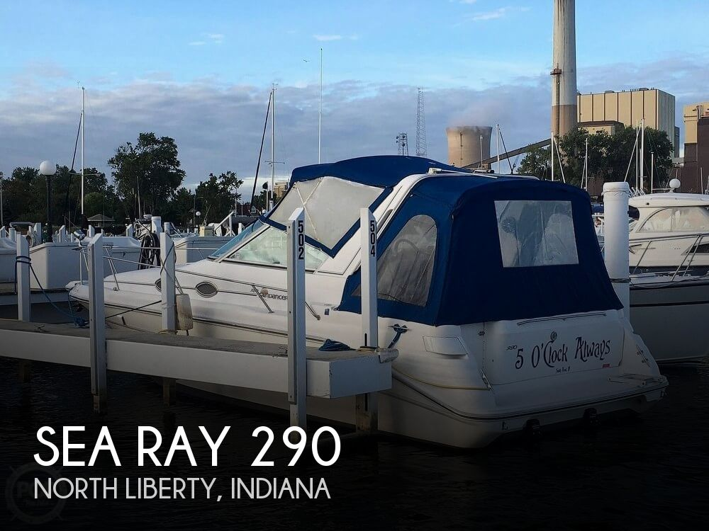 1996 Sea Ray boat for sale, model of the boat is Sundancer & Image # 1 of 40