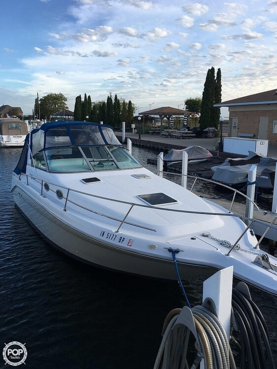 1996 Sea Ray boat for sale, model of the boat is Sundancer & Image # 7 of 40