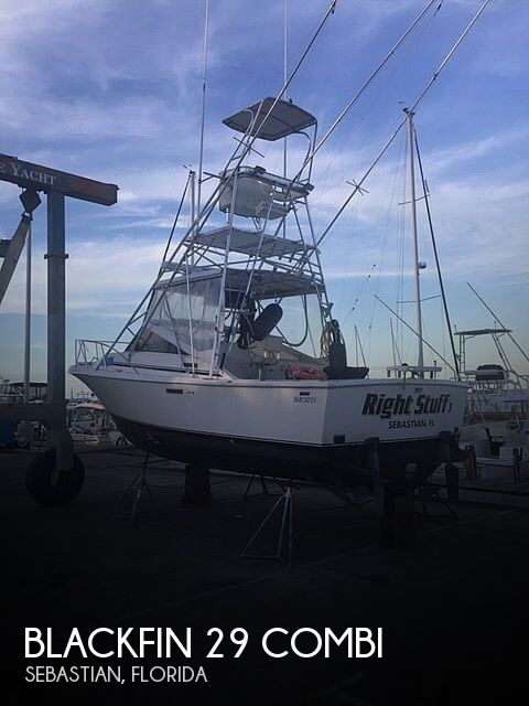 Used Blackfin Boats For Sale by owner | 1989 Blackfin 29 combi