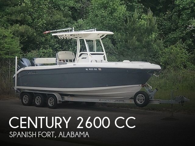 Used Boats For Sale in Alabama by owner | 2018 Century 2600 CC