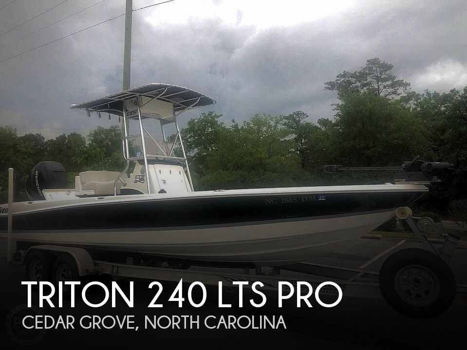2009 Triton boat for sale, model of the boat is 240 LTS PRO & Image # 1 of 40