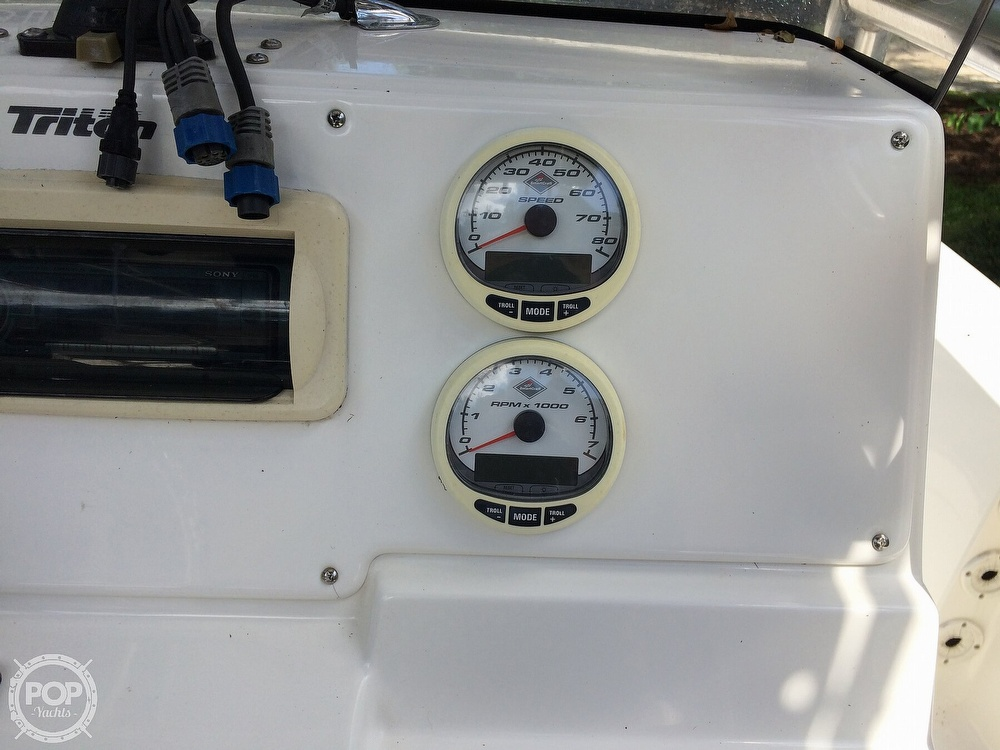 2009 Triton boat for sale, model of the boat is 240 LTS PRO & Image # 34 of 40