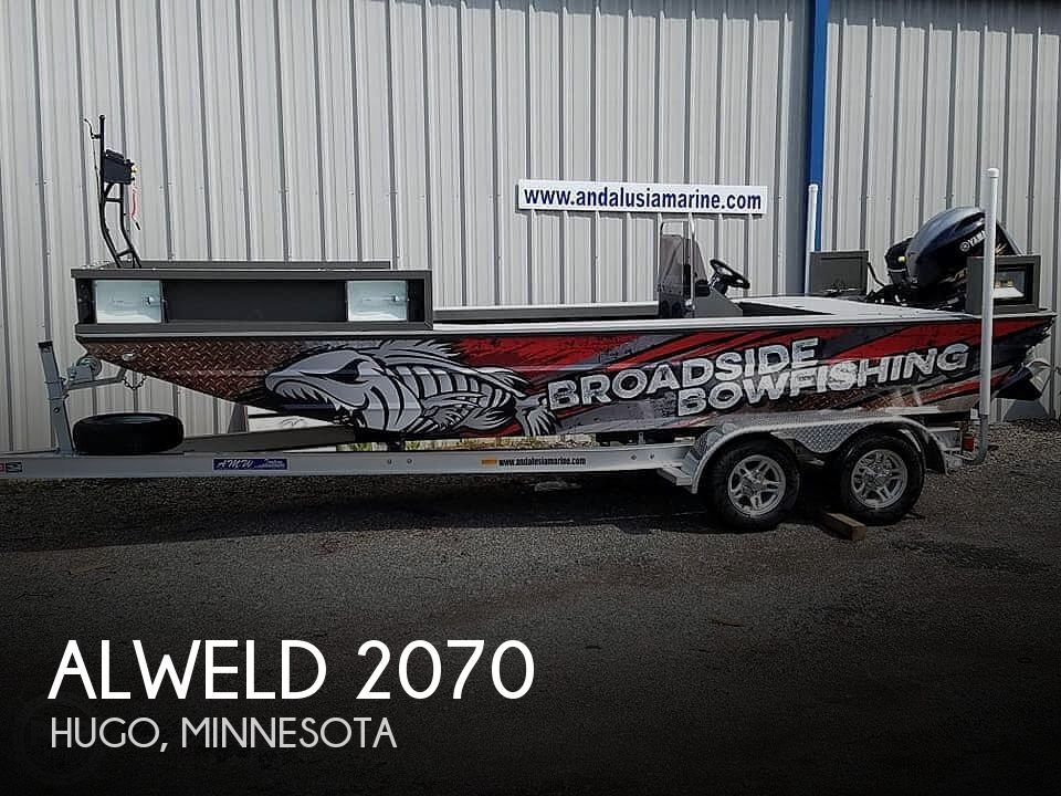 2019 Alweld boat for sale, model of the boat is 2070 bowfishing & Image # 1 of 22