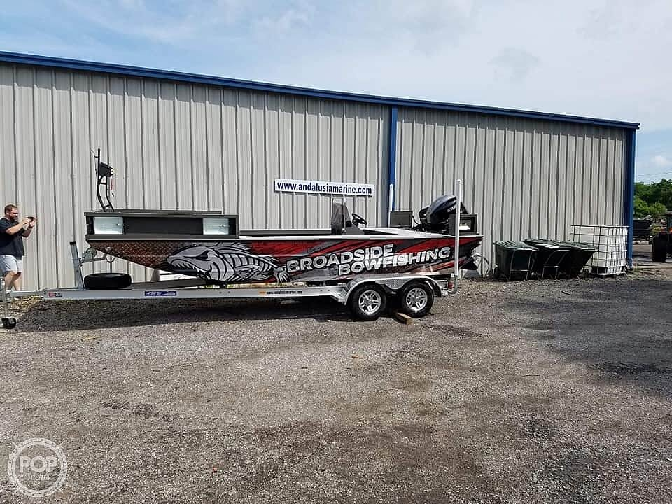 2019 Alweld boat for sale, model of the boat is 2070 bowfishing & Image # 3 of 22