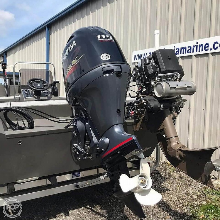 2019 Alweld boat for sale, model of the boat is 2070 bowfishing & Image # 5 of 22