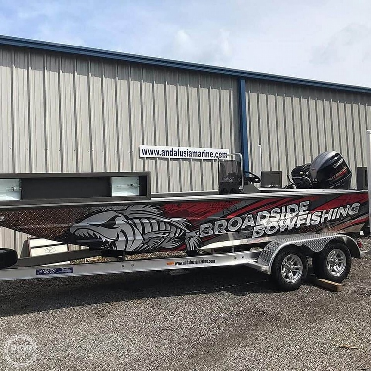 2019 Alweld boat for sale, model of the boat is 2070 bowfishing & Image # 13 of 22