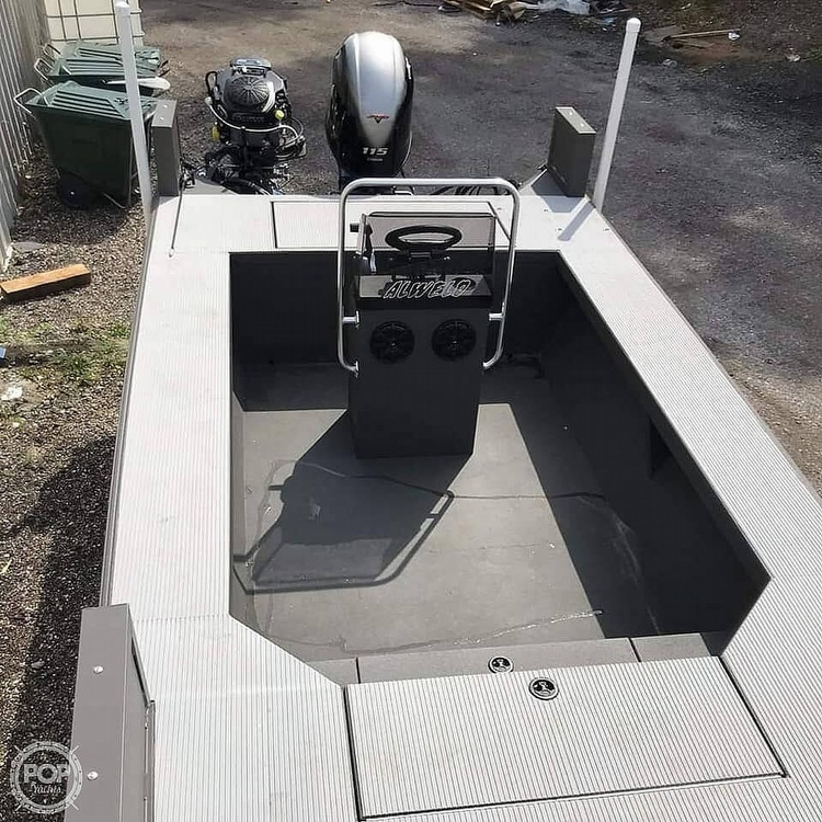 2019 Alweld boat for sale, model of the boat is 2070 bowfishing & Image # 15 of 22