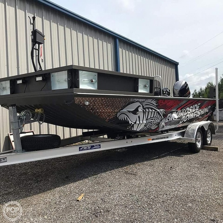 2019 Alweld boat for sale, model of the boat is 2070 bowfishing & Image # 17 of 22